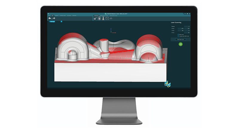New HxGN NC Measure software greatly simplifies measurement on machine tools